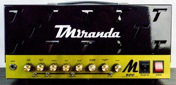 Amplificador valvulado M800