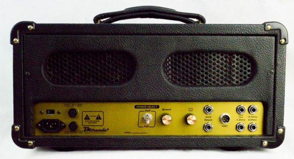 Amplificador valvulado M800 - Amplificadores valvulados  - TMiranda 3