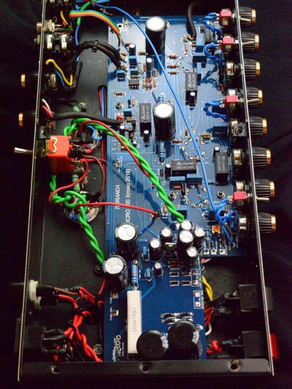 Amplificador valvulado Micro 800 - Amplificadores valvulados & pedais de efeito - TMiranda 4