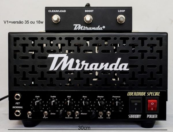 Amplificador valvulado Overdrive Special - Amplificadores valvulados  - TMiranda 3