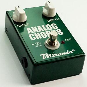Analog Chorus effect pedal