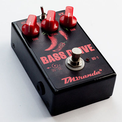 Pedal bass overdrive- contra baixo