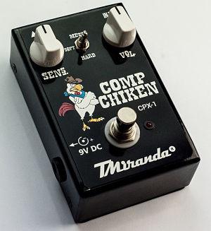 pedal compressor sustainer guitarra