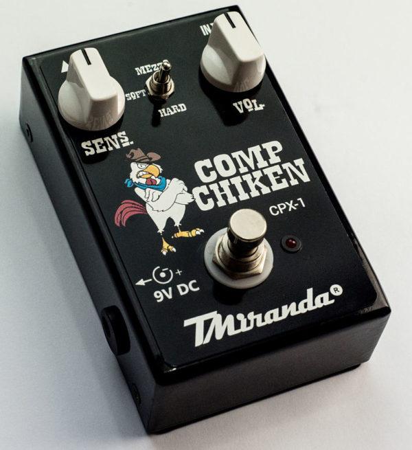 pedal compressor sustainer contra baixo e guitarra