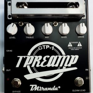 Guitar Tube Preamp Gtd-1 – Tube distortion