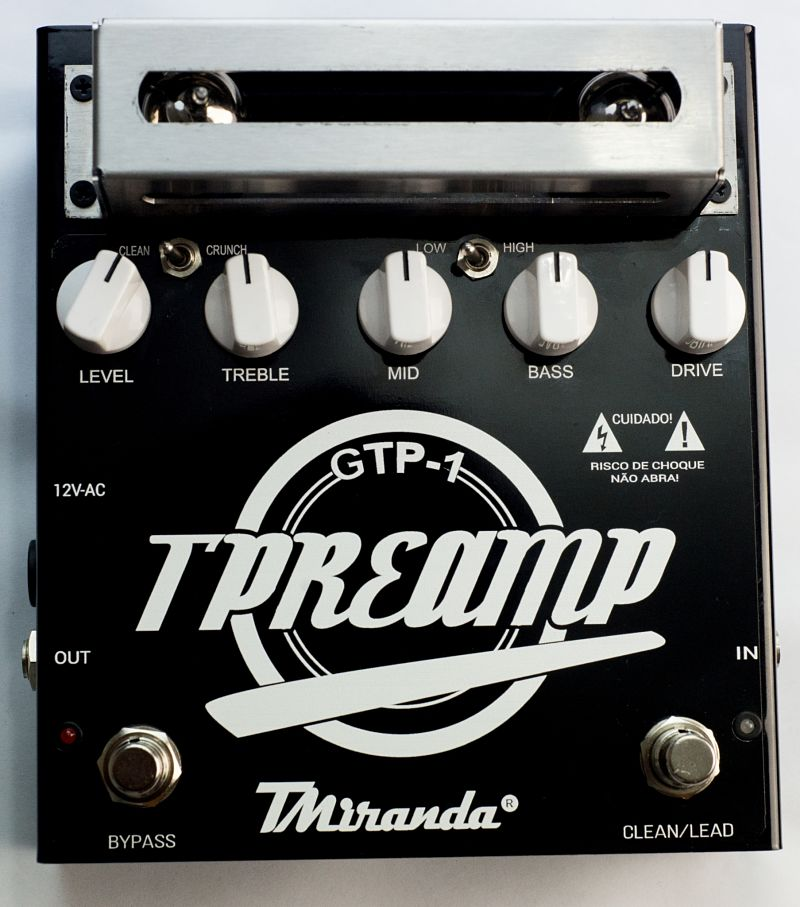 Guitar Tube Preamp effect pedal
