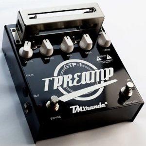 Guitar Tube Preamp pedal valvulado