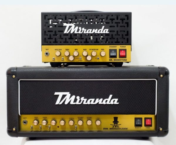 Mr. Brownstone Plus Head - Amplificadores Valvulados & pedais de efeito - TMiranda 1