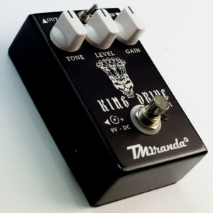 King Drive- guitar distortion effect pedal