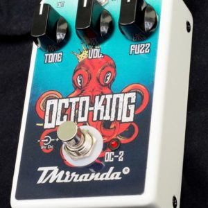 Octo King OC-2-fuzz octave up effect pedal