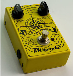 Phase effect pedal