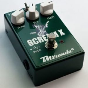 Scream X- guitar overdrive effec pedal