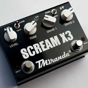 Scream X3-super overdrive effect pedal