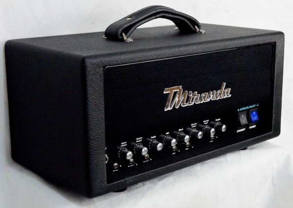 Guitar high gain tube amp