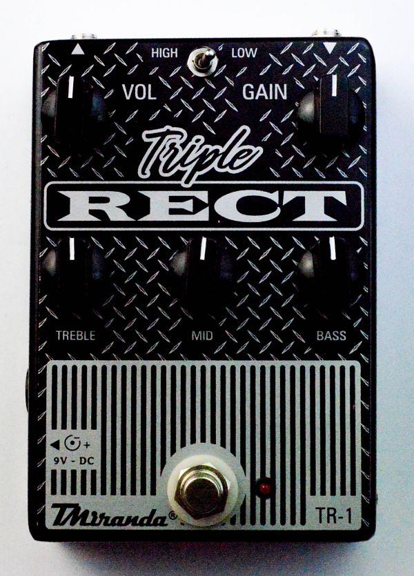 Triple rect - Mesa Boogie in a box - Amplificadores valvulados  - TMiranda